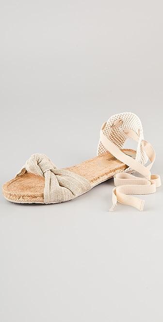 Belle by Sigerson Morrison Maya Ankle Wrap Espadrilles