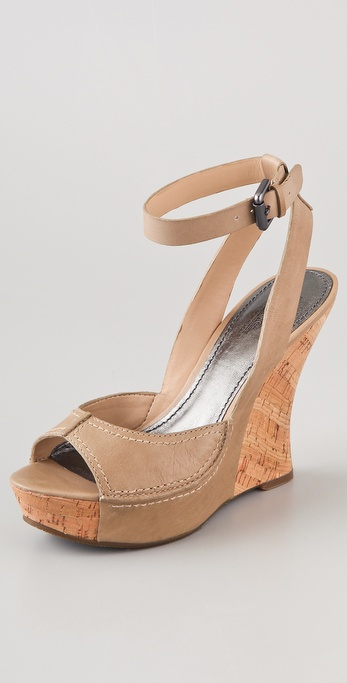 Belle by Sigerson Morrison Balena Wedge Sandals