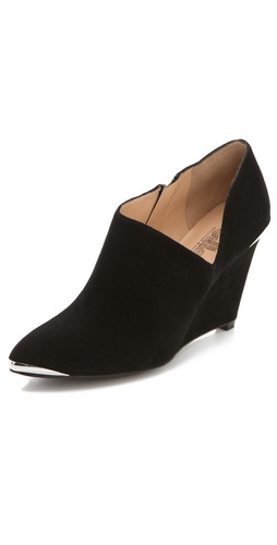 Belle by Sigerson Morrison Felicia Dip Wedge Booties