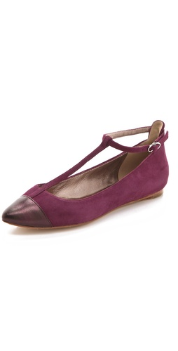 Belle by Sigerson Morrison Varda T Strap Flats