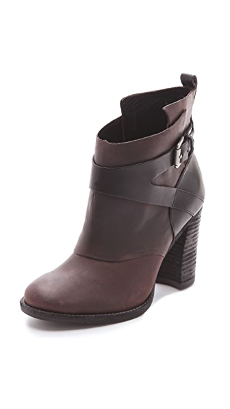 Belle by Sigerson Morrison Hannah Nubuck Booties