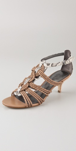 Belle by Sigerson Morrison Falda Twisted Knot Sandals