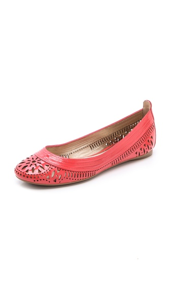 Belle by Sigerson Morrison Laser Cut Ballet Flats