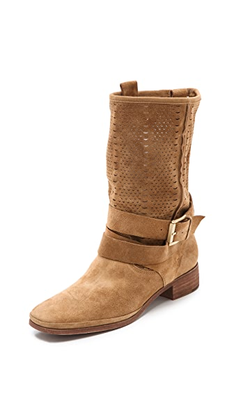 Belle by Sigerson Morrison Who Perforated Summer Boots