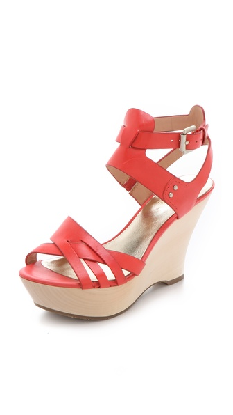 Belle by Sigerson Morrison Call Wood Wedges