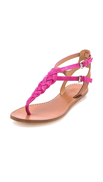Belle by Sigerson Morrison Rank Braided Flat Sandals