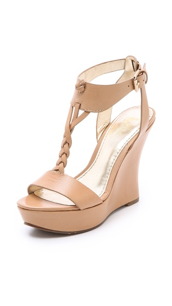 Belle by Sigerson Morrison Bela Braided T-Strap Sandals