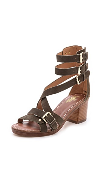 Belle by Sigerson Morrison Abra Block Heel Sandals