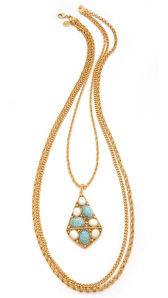 Ben-Amun Layered Pendant Necklace
