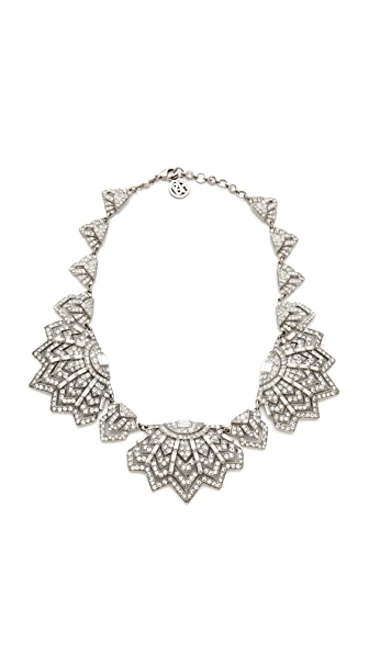 Ben-Amun Crystal Bib Necklace
