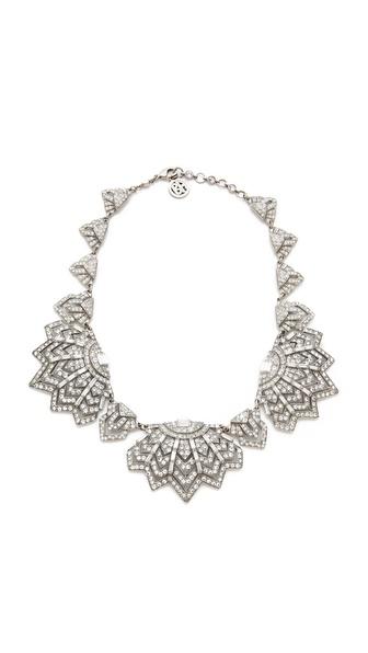 Ben-Amun Crystal Bib Necklace