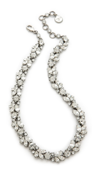 Ben-Amun Crystal Wreath Necklace