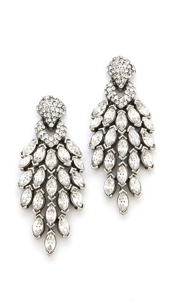 Ben-Amun Crystal Statement Earrings