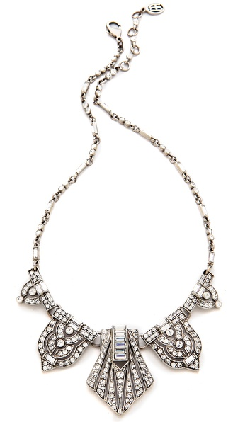 Ben-Amun Crystal Statement Necklace