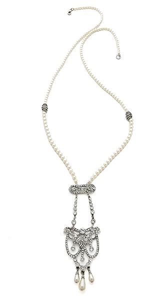 Ben-Amun Long Crystal Drop Necklace