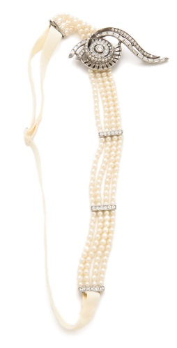 Ben-Amun Crystal Headband at Shopbop / East Dane