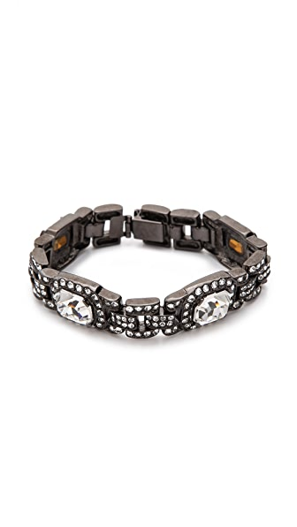 Ben-Amun Heirloom Crystal Bracelet