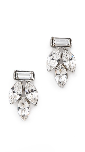 Ben-Amun Classic Crystal Earrings