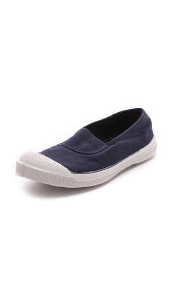 Kupi Bensimon cipele online i raspordaja za kupiti Soft canvas sneakers with simple stylish appeal. Slip on design and rubber sole. Imported, Slovakia. Available sizes: 39,40,41