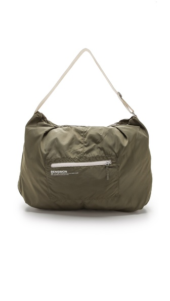 Bensimon Shoulder Bag - Khaki at Shopbop / East Dane