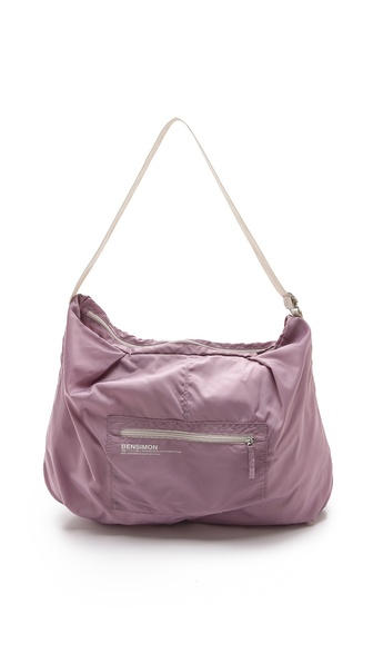 Bensimon Shoulder Bag - Mauve at Shopbop / East Dane