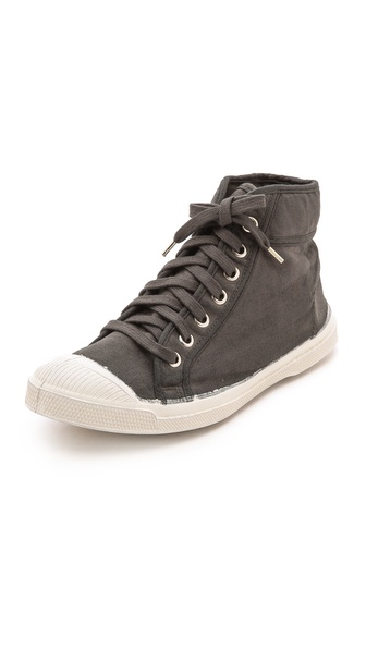 Kupi Bensimon cipele online i raspordaja za kupiti Washed canvas high top sneakers, detailed with a lightly padded top line and a textured toe cap. Lace up closure. Rubber sole. Imported, Slovakia (Slovak Republic). Size & Fit. Available sizes: 36,37,38,39,40,41