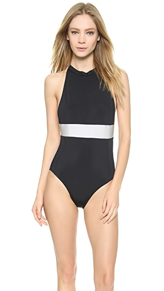 Valerie One Piece Swimsuit (Black)