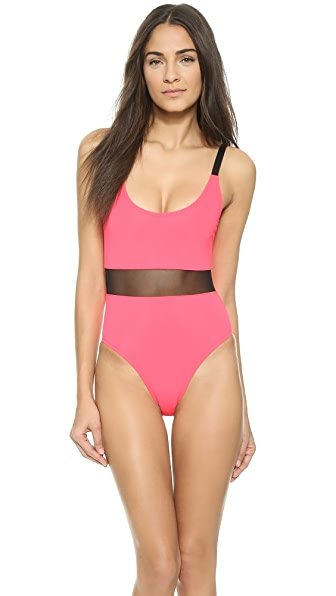 Agnes One Piece Swimsuit (Red)