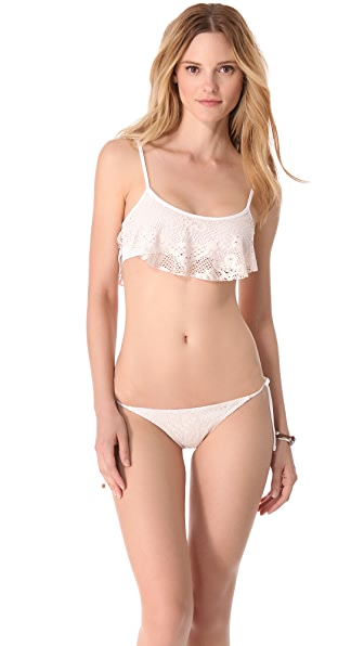 Bettinis Legacy Lace Trapeze Bikini Top