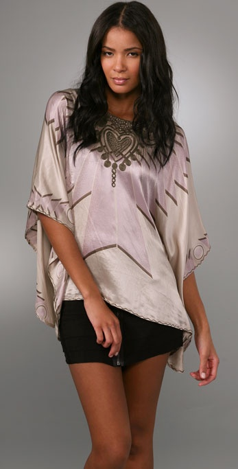 Beyond Vintage Draped Top