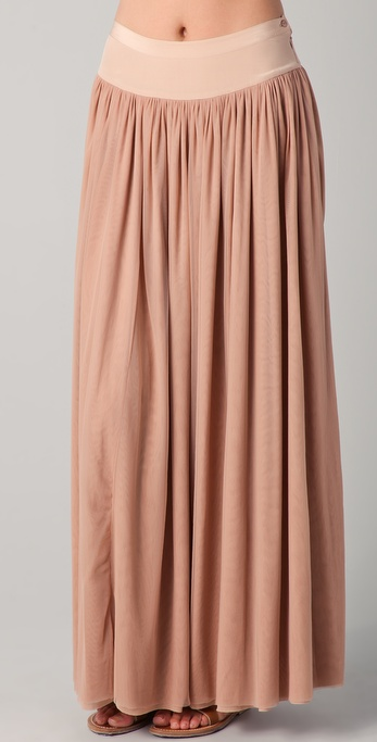 Beyond Vintage Ballet Long Skirt