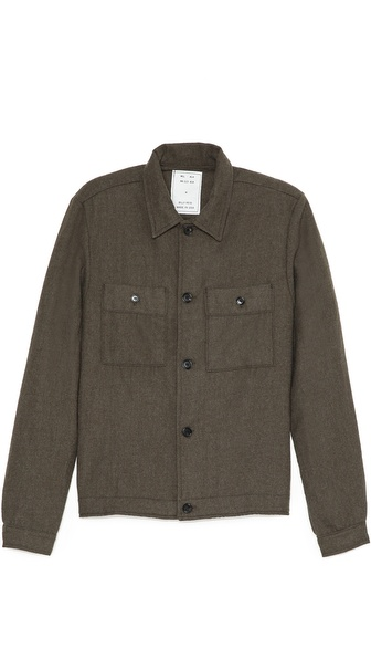 Billy Reid Wheeler Shirt Jacket