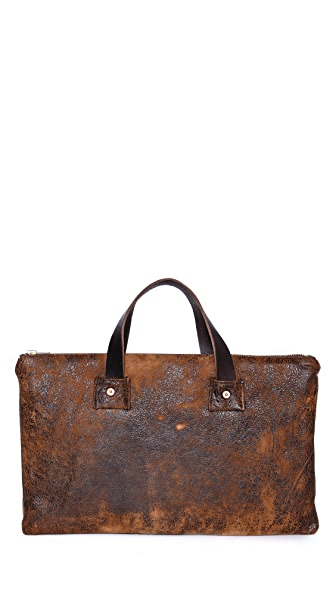 Billy Reid Distressed Laptop Sleeve