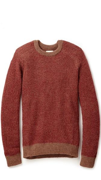 Billy Reid Textured Pullover