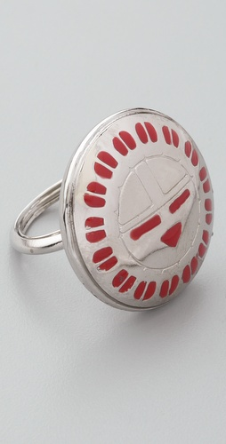 Bing Bang Hopi Sun Face Ring