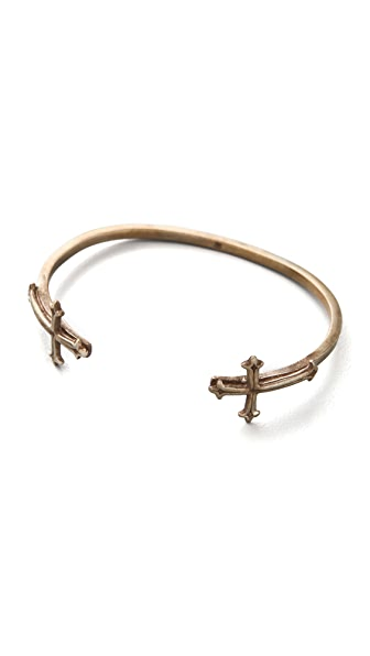 Bing Bang Double Victorian Cross Bangle
