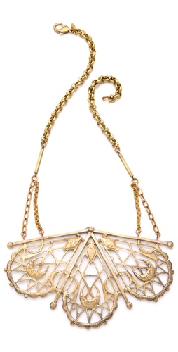 Bing Bang Sacred Geometry Bib Necklace