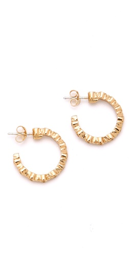 Bing Bang Skull Mini Hoops
