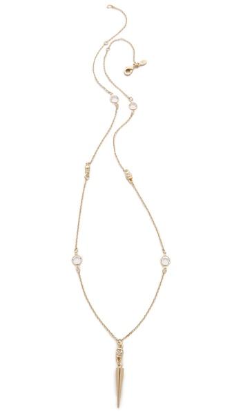 Bing Bang Skull Pendulum Necklace