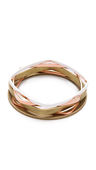 Bing Bang Mixed Stacking Bangle Set