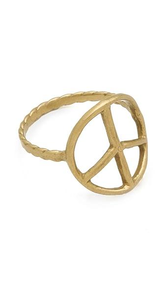Bing Bang Peace Sign Ring