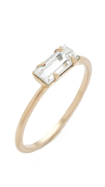 Bing Bang Tiny Baguette Ring