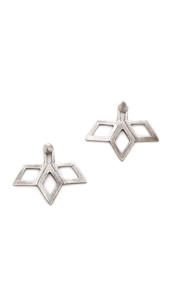 Bing Bang Fan Stud Earrings