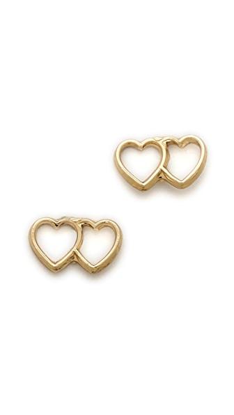 Bing Bang Loved Up Stud Earrings