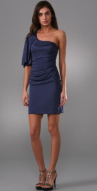 Black Halo Adelle Mini Dress