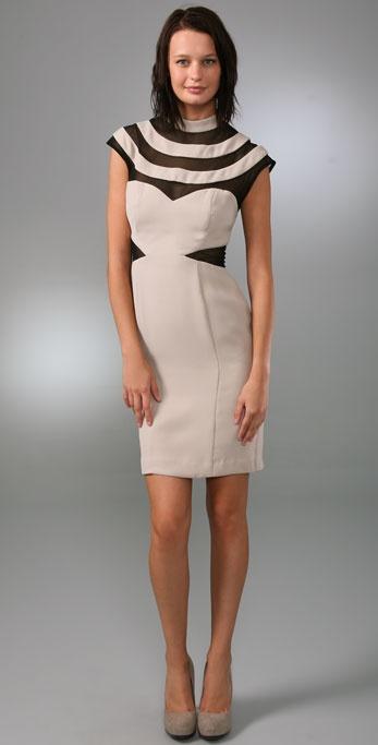 Black Halo Shannon Sheath Dress