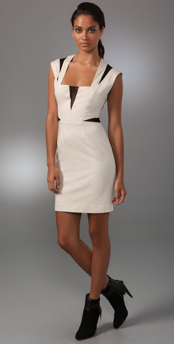 Black Halo Lacey Dress