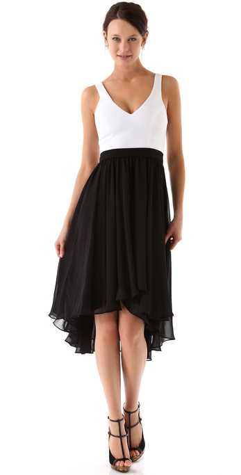 Black Halo Francis Dress