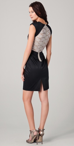 Black Halo Jagger Dress