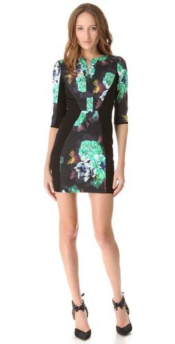 Black Halo Terri Mini Dress